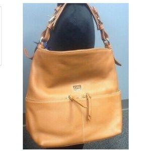 EUC Sand Dooney & Bourke Dillen Hobo Bag